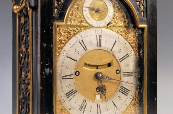 Francis Robinson bracket clock