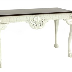 Georgian style console table