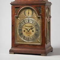 Table clock by London maker Charles Goode
