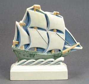 Poole Pottery The Ship by Harold Stabler
