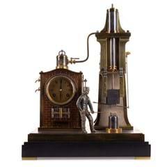 A French automaton clock