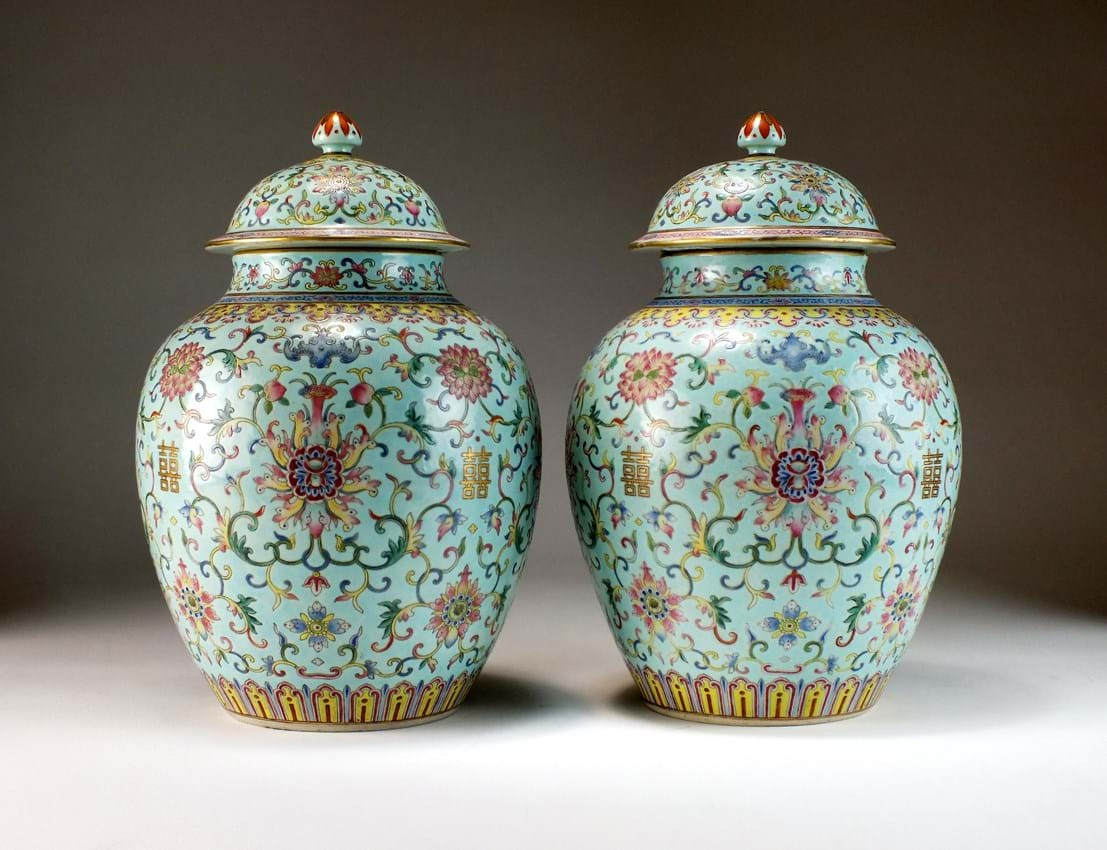 Chinese mark and period vases