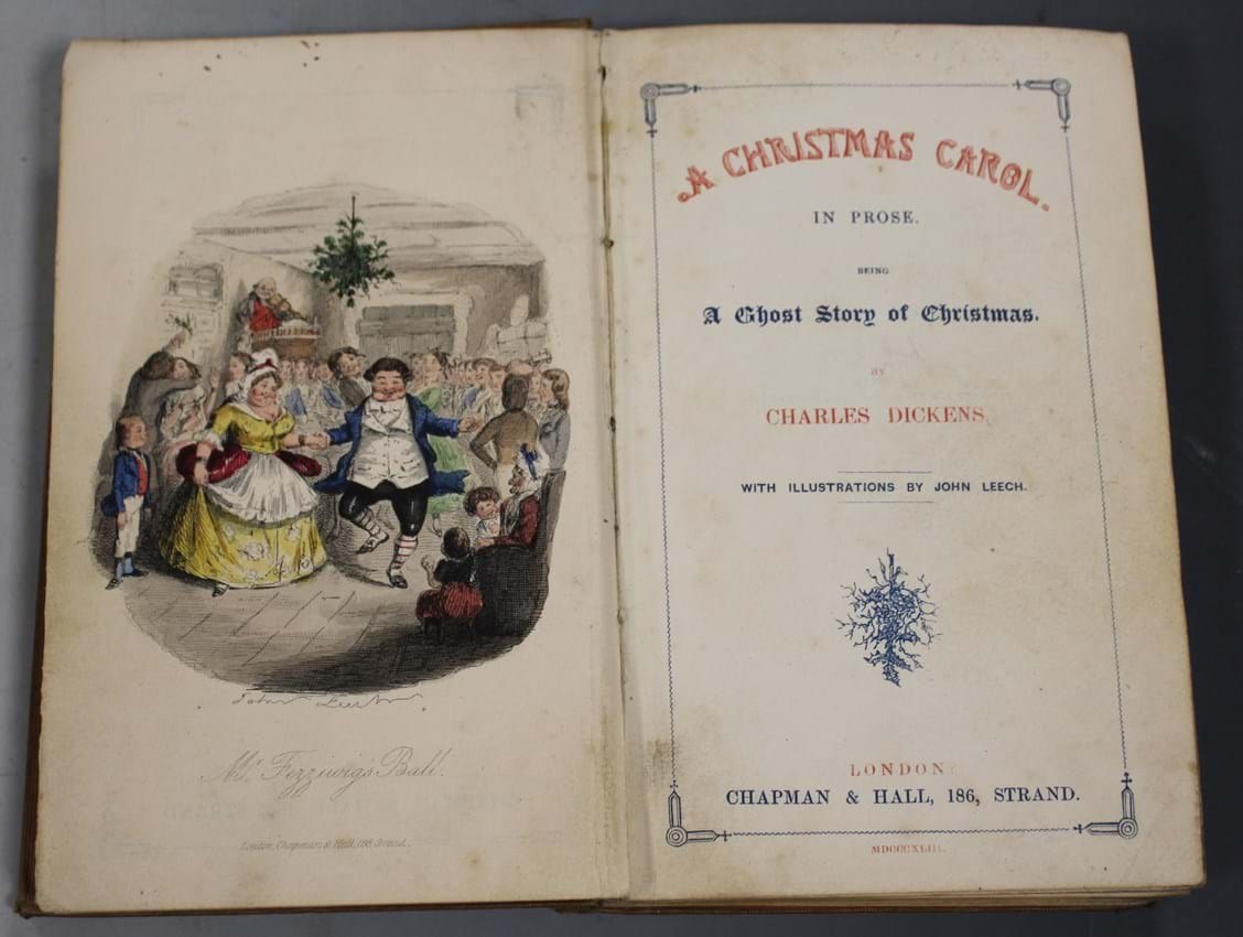A Christmas Carol published in 1843