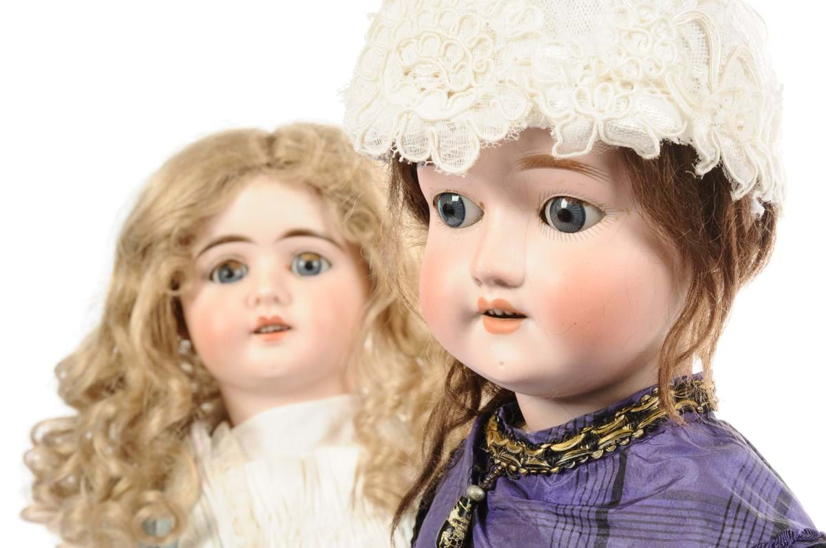 Dolls once belonging to Jo Wood's mother Rachel Karslake