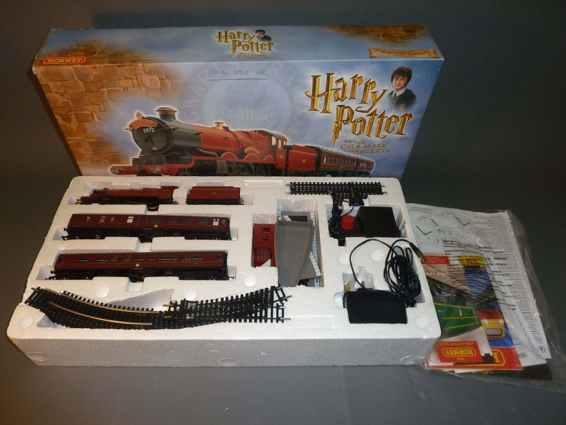 Hornby Harry Potter electric train